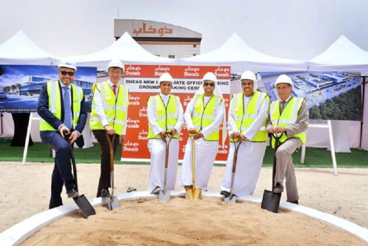 Ducab breaks ground on new global HQ building in Dubai