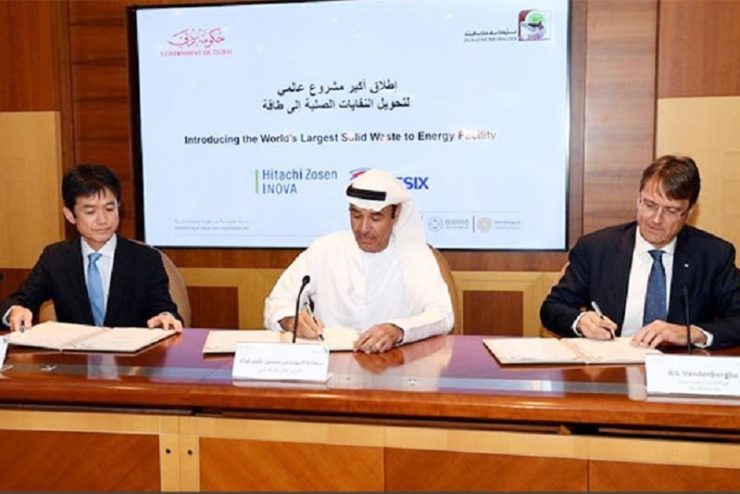 Dubai launches US$ 680 mn waste-to-energy project
