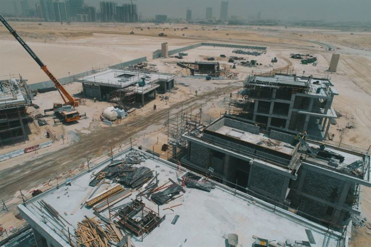 Over one million square metres of earthworks completed for first phase of Majid Al Futtaim's Tilal Al Ghaf community