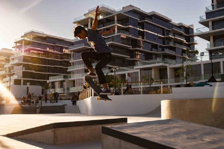 Damac Properties opens gates to new 2,000-sq-m skatepark