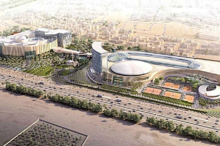 Sheikh Jaber Al Abdullah Al Jaber Al Sabah International Tennis Complex on track for 2019 opening