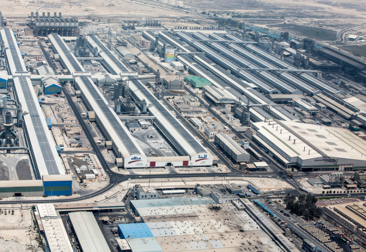 Alba hits milestone in its Line 6 expansion project