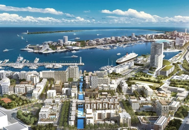 Emaar announces building new sailing destination by Dubai Creek