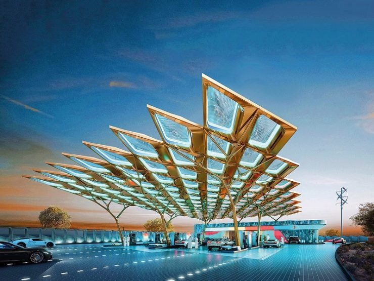 ENOC Group unveils concept design for service station on Expo 2020 site