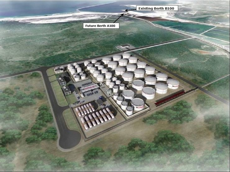 Construction works on new Ngqura liquid bulk terminal in South Africa on track