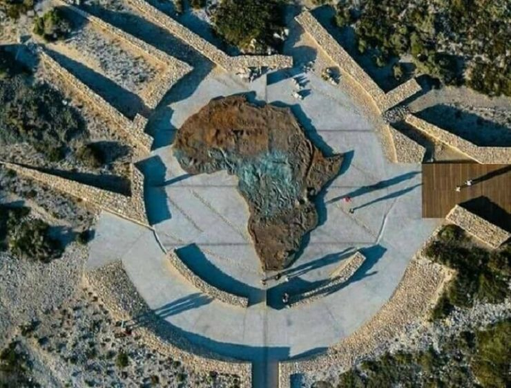 US$ 1 mn Iconic Map of Africa Monument in South Africa unveiled