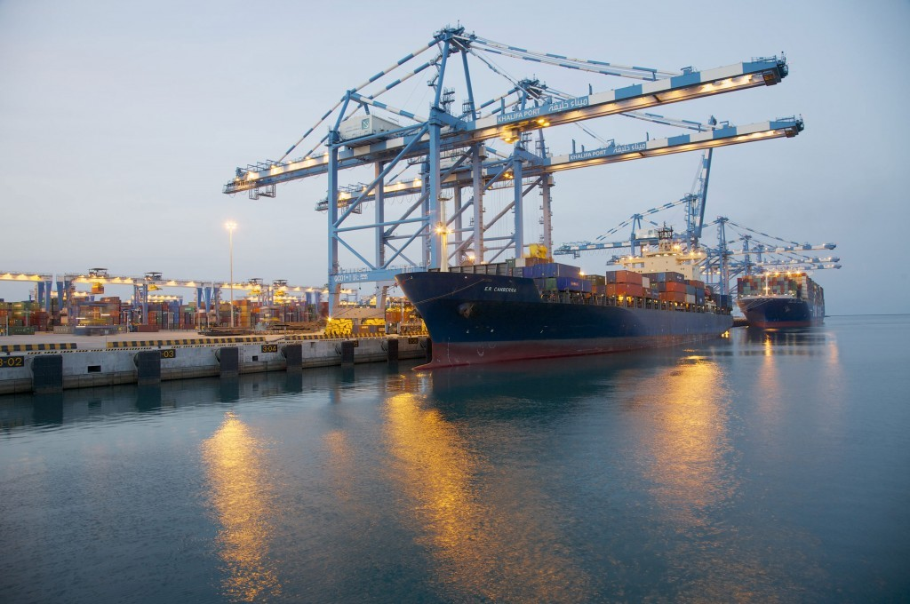 Abu Dhabi Ports Authority signs agreement with AMS to construct…